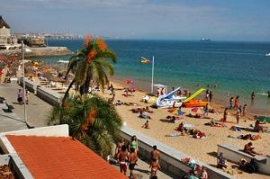 lisbon portugal cascais conceicao beach