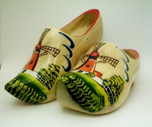 2 Wooden-Shoes