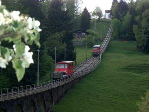 3 railway Jura Mountains