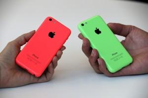 iPhone 5C bright colors
