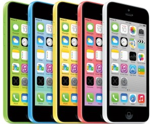 iPhone 5C many colors