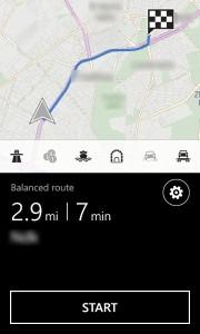 Nokia Lumia 1320 maps navi