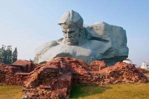 Monument in Brest, Belarus