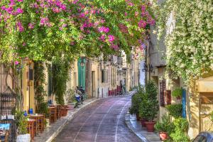 Beautiful Street in Athens