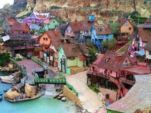 Popeye Village or Sweethaven Village, Malta