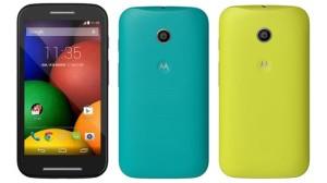 Motorola Moto E colors