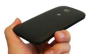 Motorola Moto E in hand