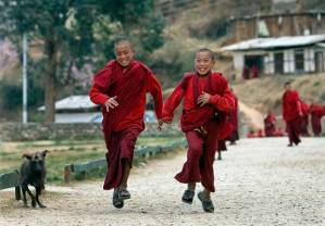 1 Happy children Bhutan