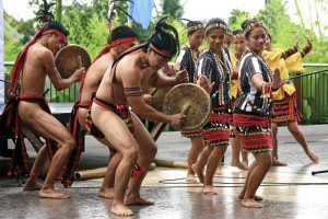 Traditional dance by the Lumad people