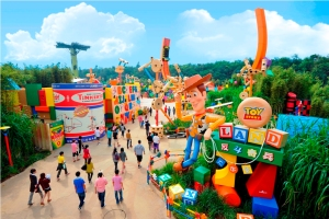 Toy Story Land, Hong Kong Disneyland, Lantau