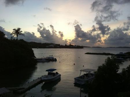 bermuda-sunset-ocean