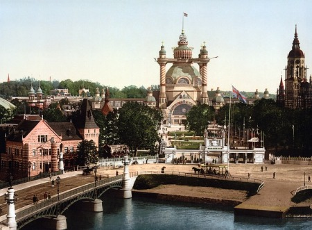 stockholm-sweden-photochrom-bridge-church-river